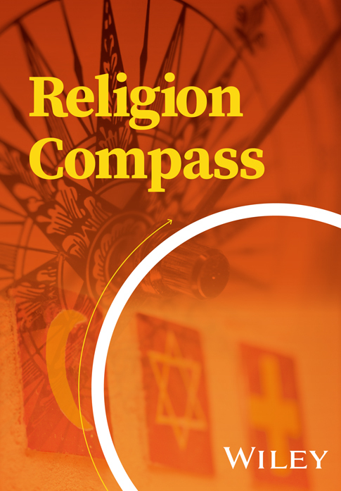 "Appointed to the Editorial Board of ""Religion Compass"""